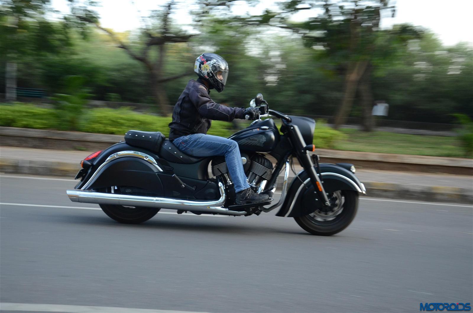 Indian Dark Horse riding comfort