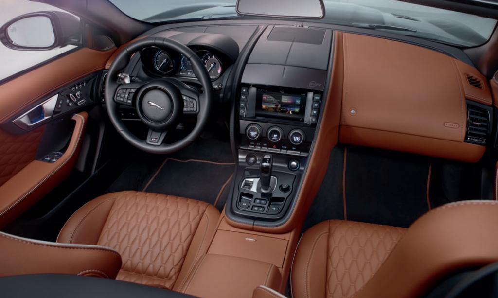 Jaguar F-TYPE SVR interior