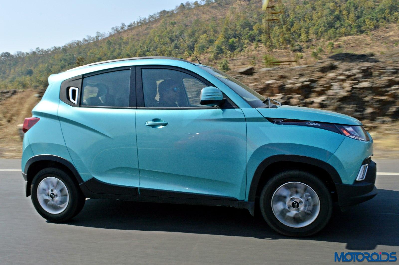 KUV 100 petrol review India