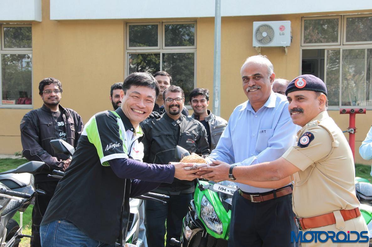 Kawasaki IDTR road safety clinic 1