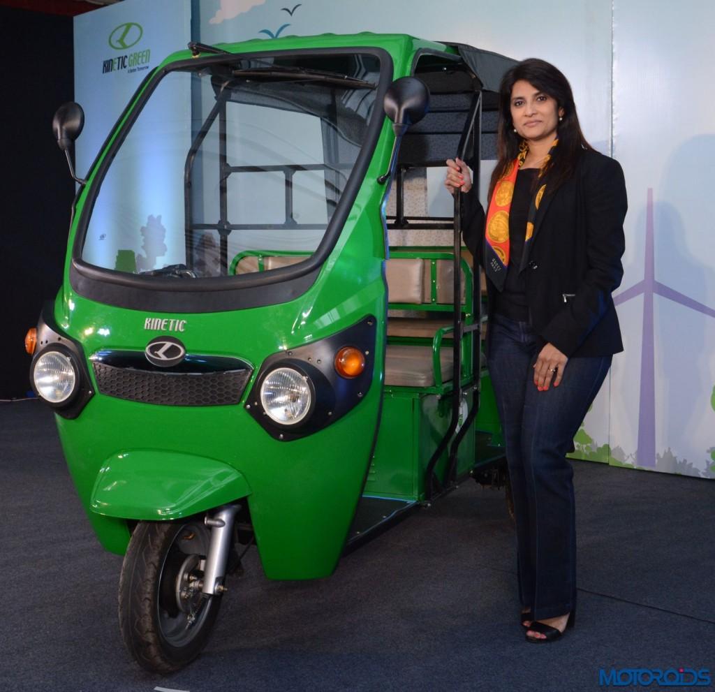 Kinetic Safar Electric Auto (1)