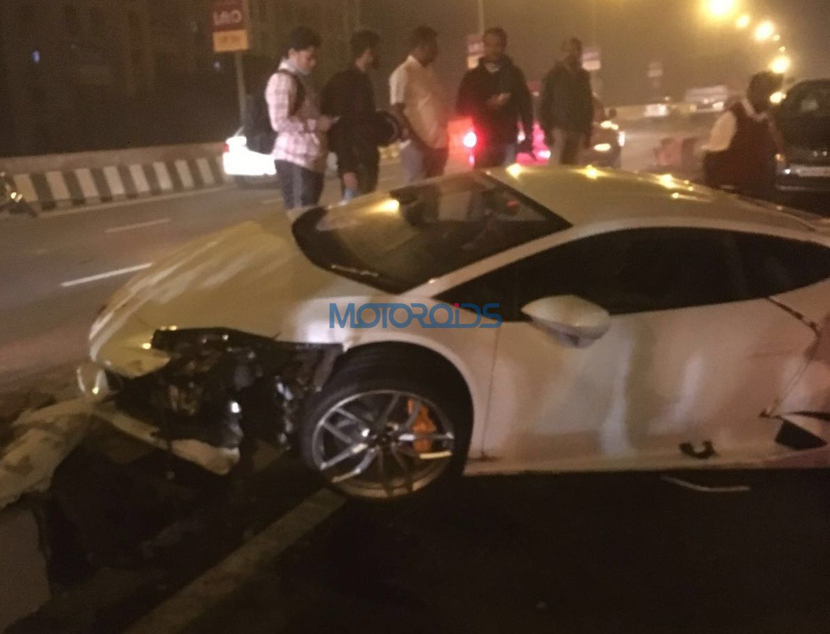Mumbai Lamborghini Huracan Among Other Supercars Seized By Octroi