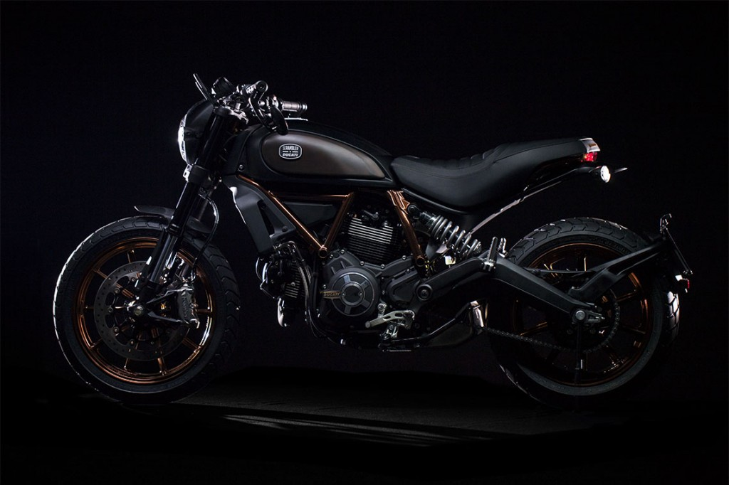 Limited edition Ducati Scrambler Italia Independent unveiled - 7