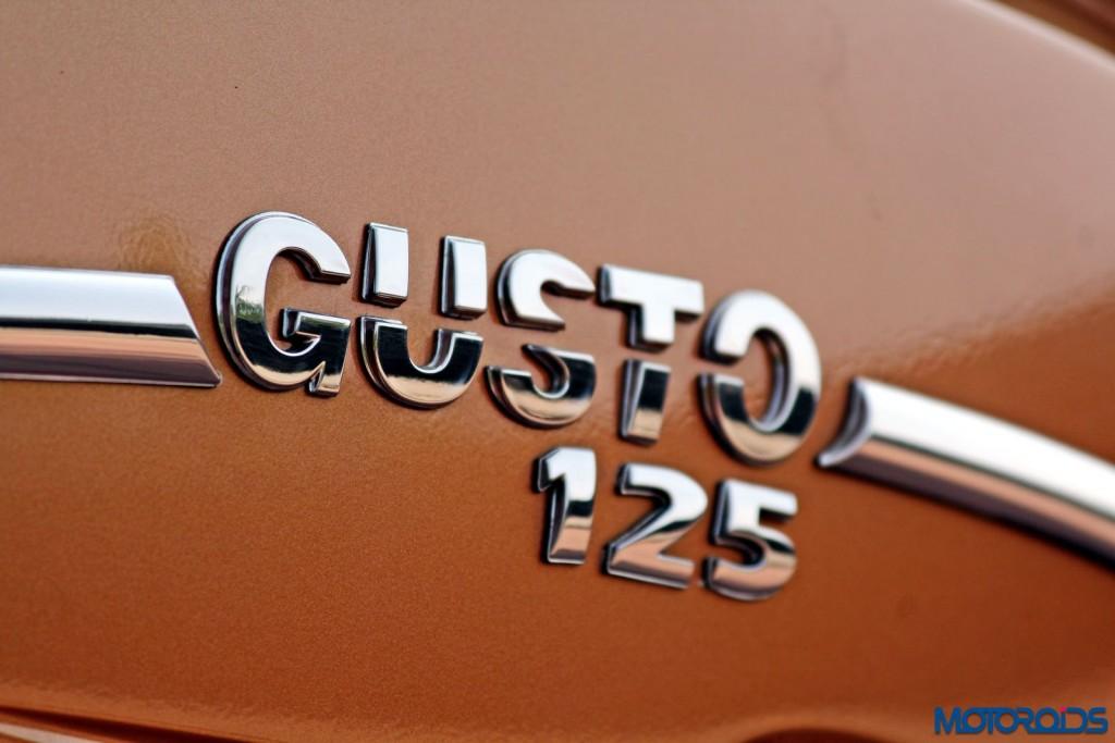 Mahindra Gusto 125 Review - Details - Chrome Badge (1)