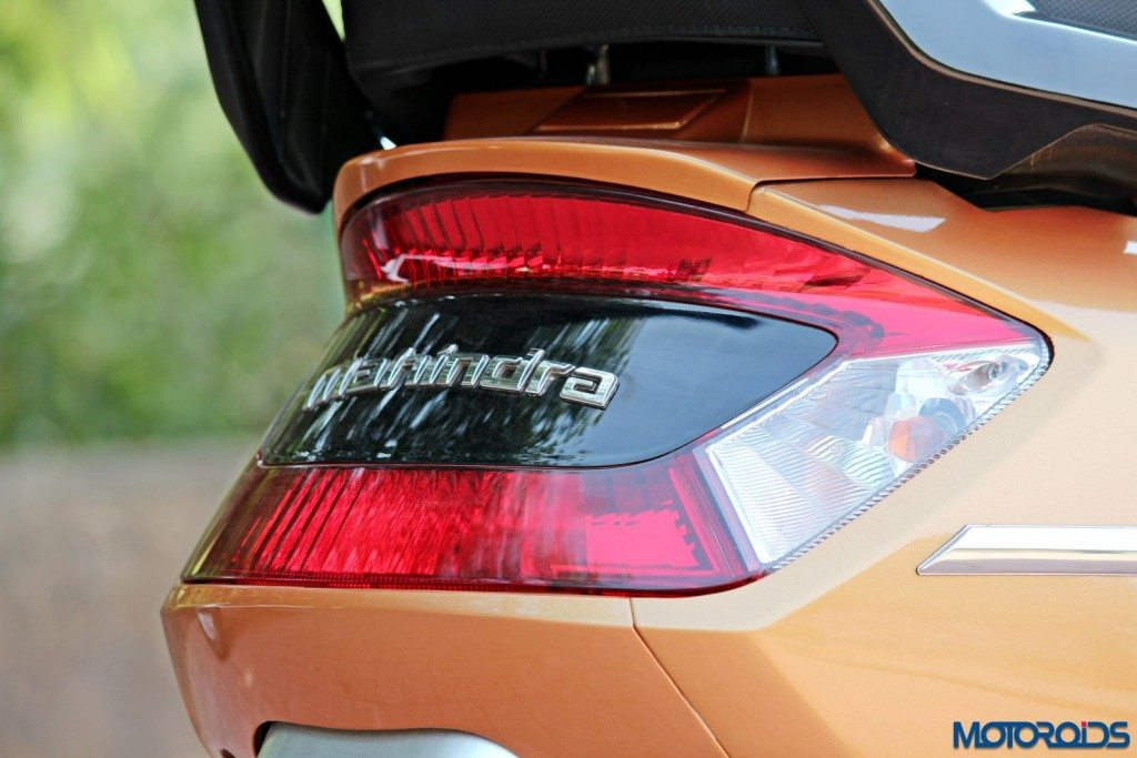 Mahindra Gusto 125 Review - Details - Tail Light (3)
