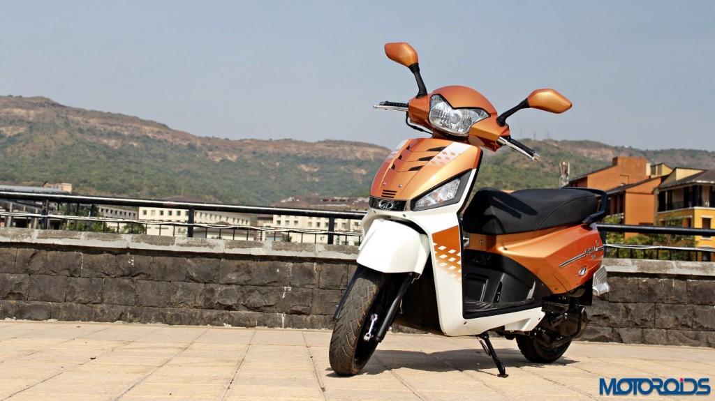 Mahindra Gusto 125 Review - Still Shots (10)