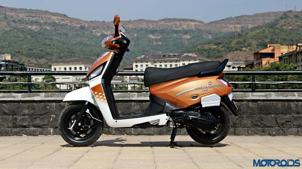 Mahindra Gusto 125 Review - Still Shots (6)