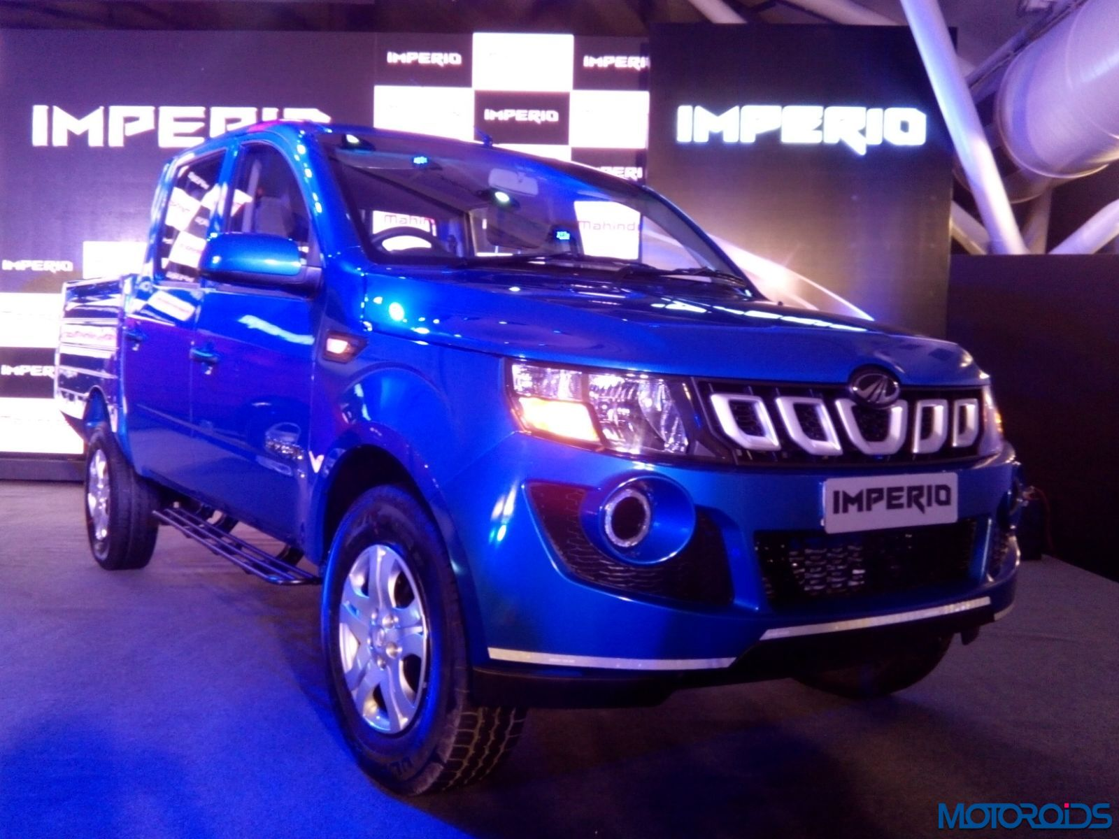 Mahindra Imperio Pick-Up Launch - LIVE (15)