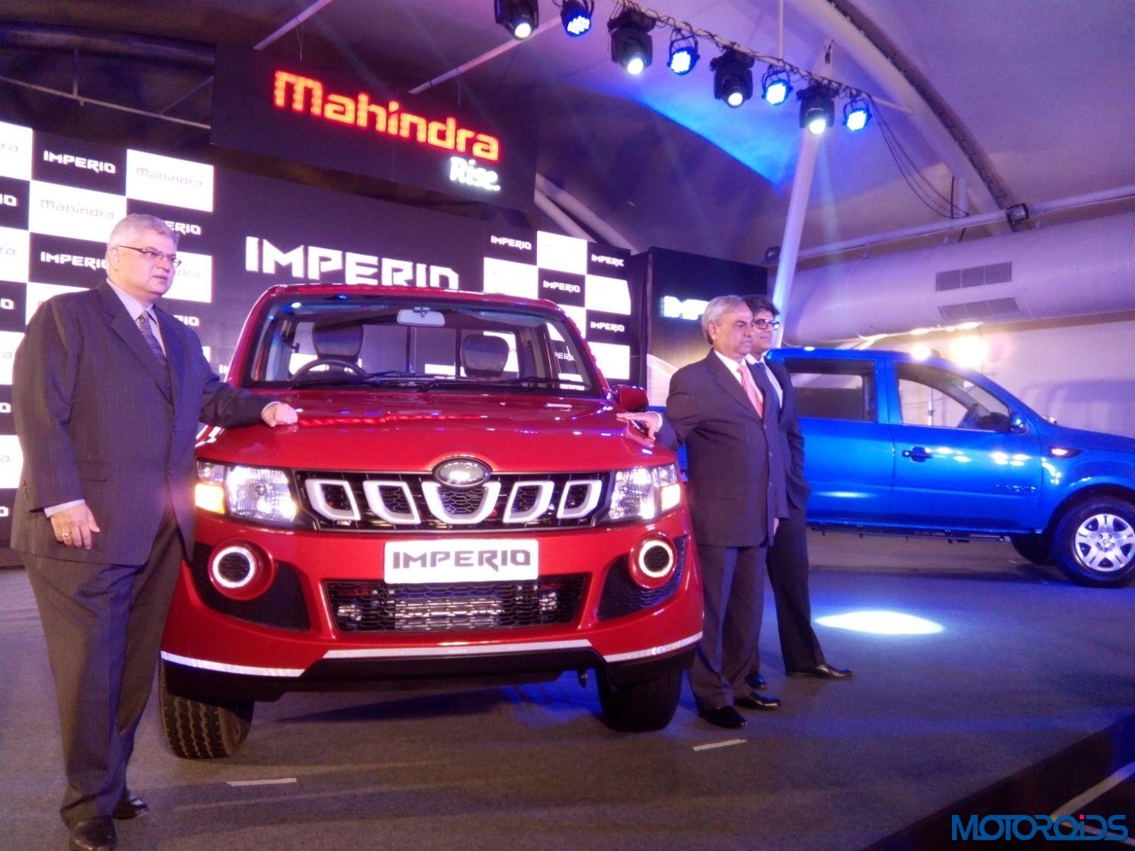 Mahindra Imperio Pick-Up Launch - LIVE (16)