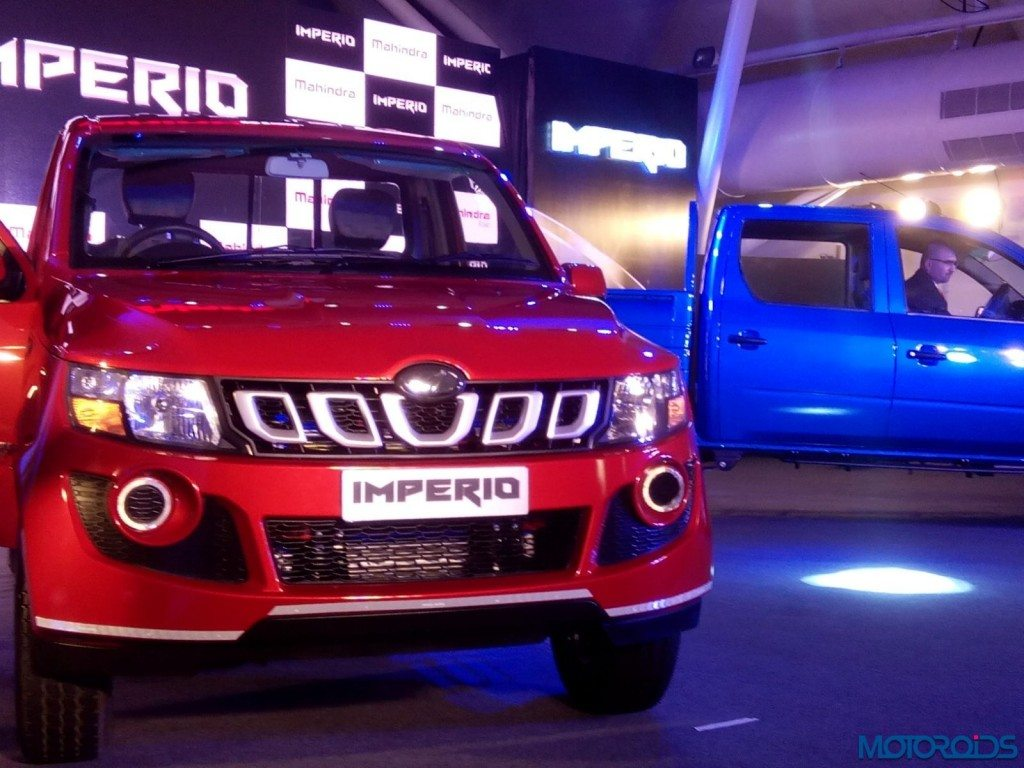 Mahindra Imperio Pick-Up Launch - LIVE (19)