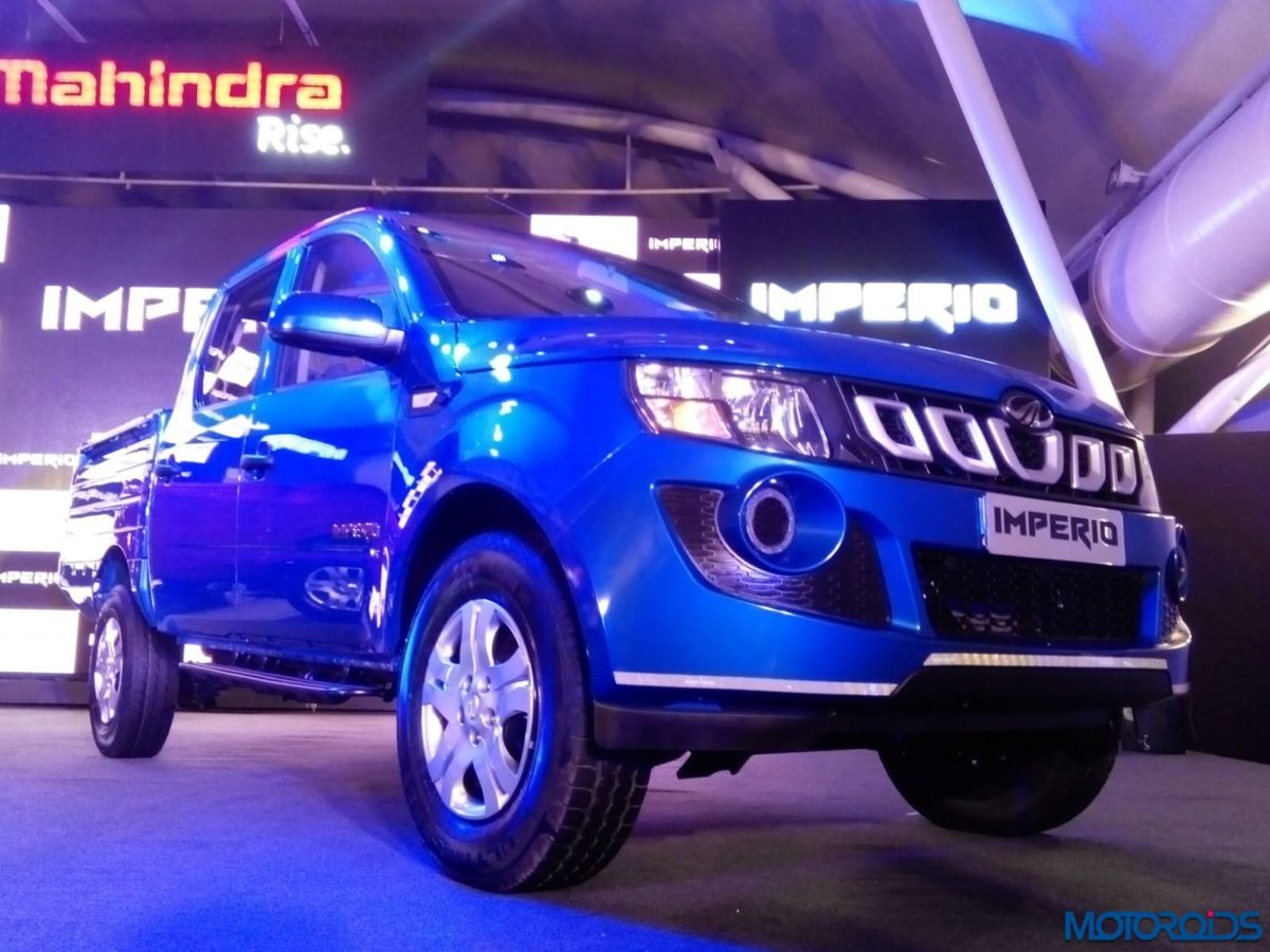 Mahindra Imperio Pick Up Launch – LIVE (21)