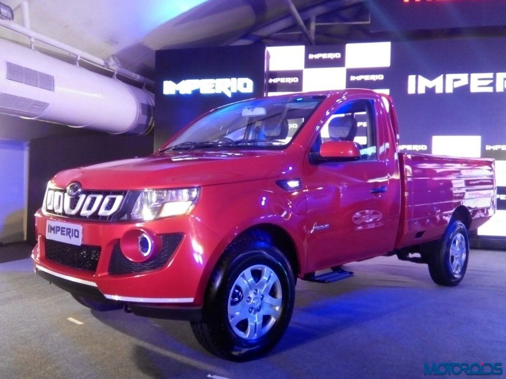 Mahindra Imperio Pick-Up Launch - LIVE (22)
