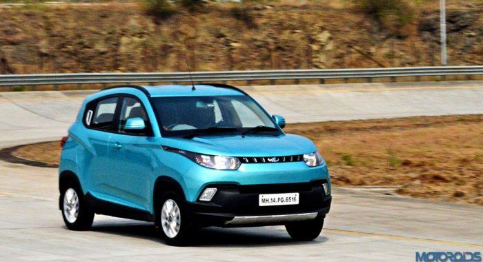Mahindra KUV100 Crosses 50,000 Units Sales Milestone