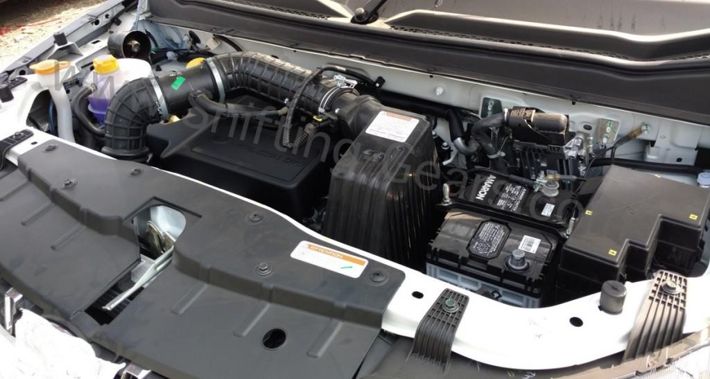 Mahindra KUV100 MFalcon Engine