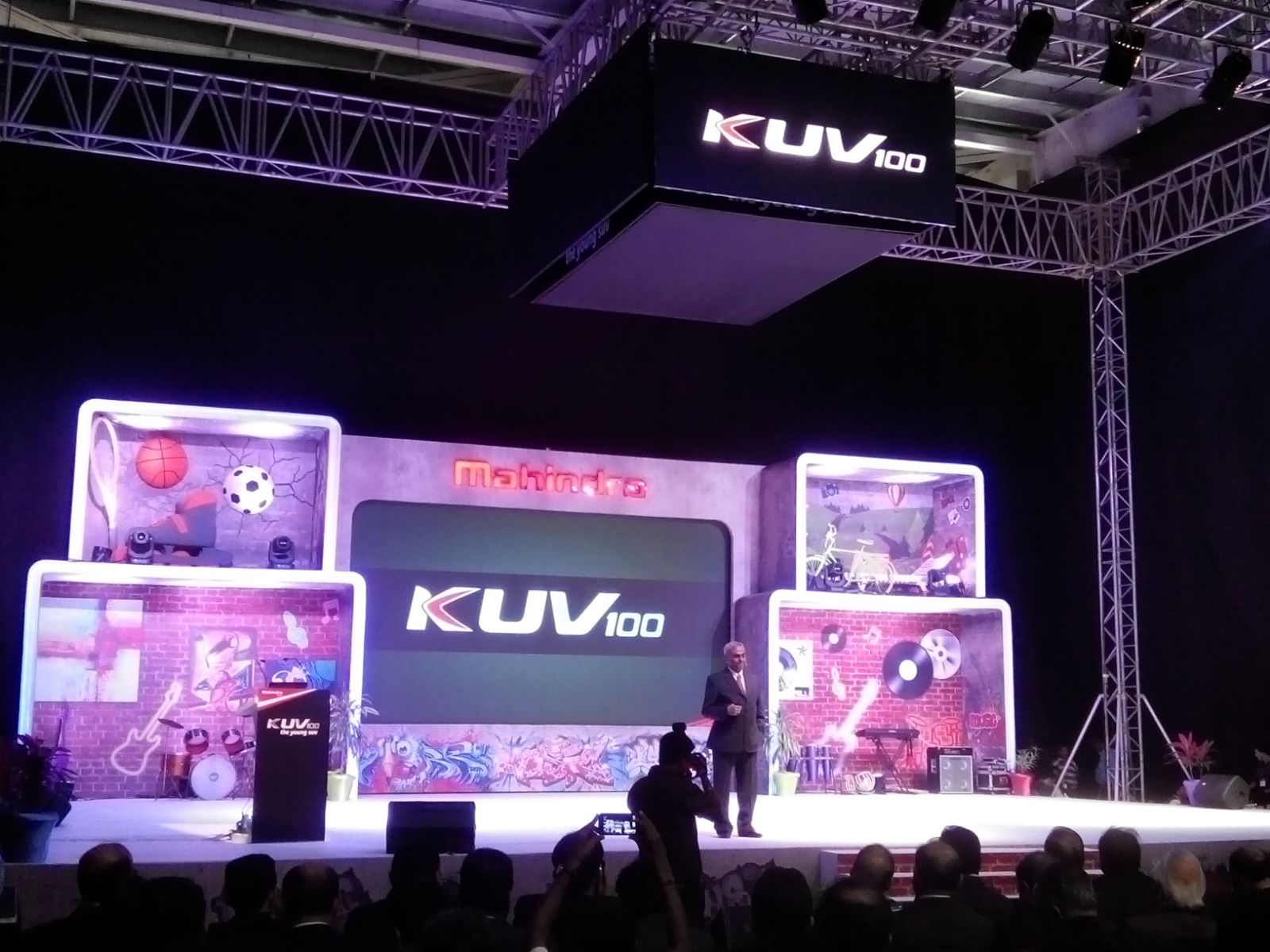 Mahindra KUV100 launch live (3)