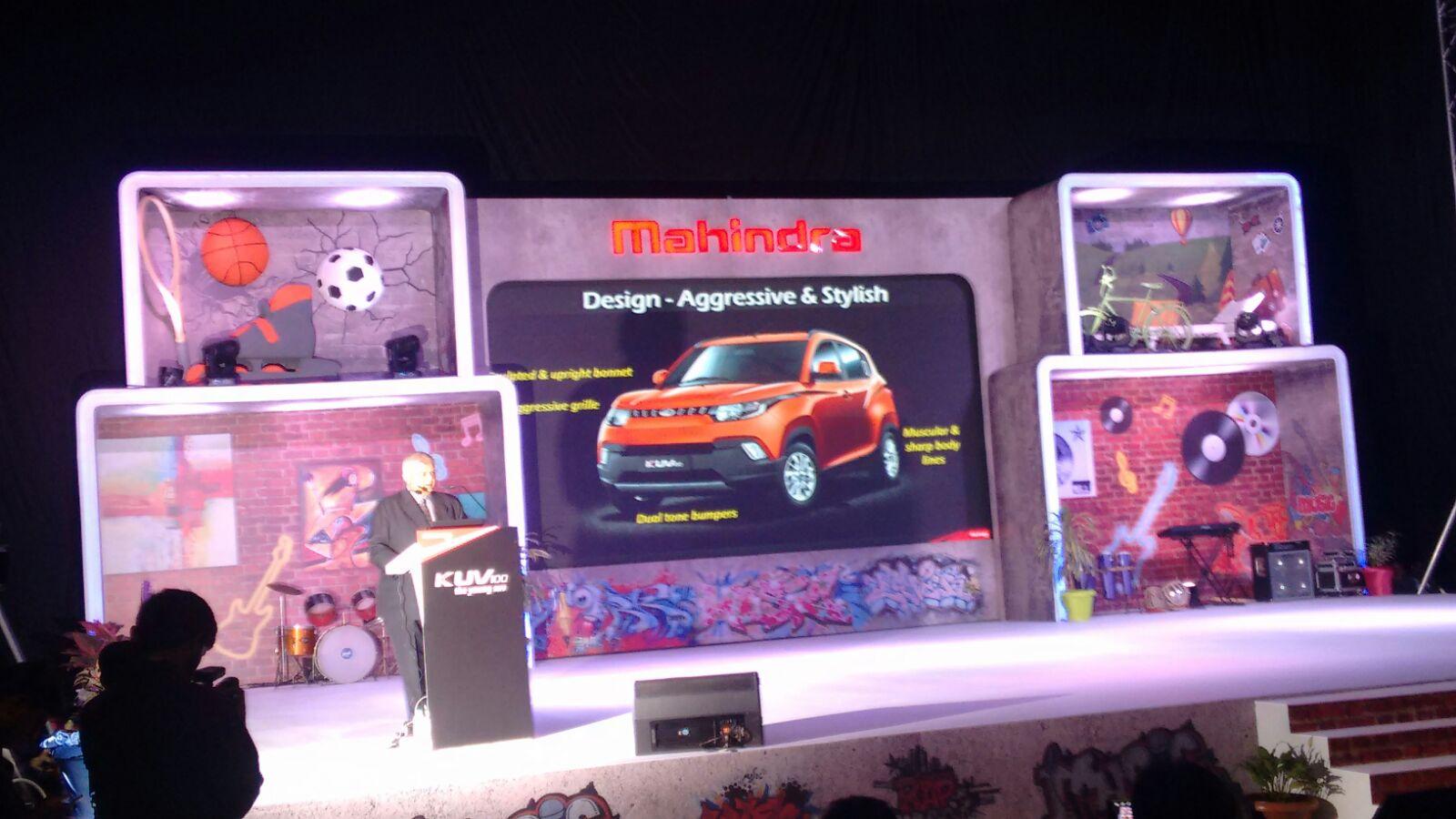 Mahindra KUV100 launch live (5)