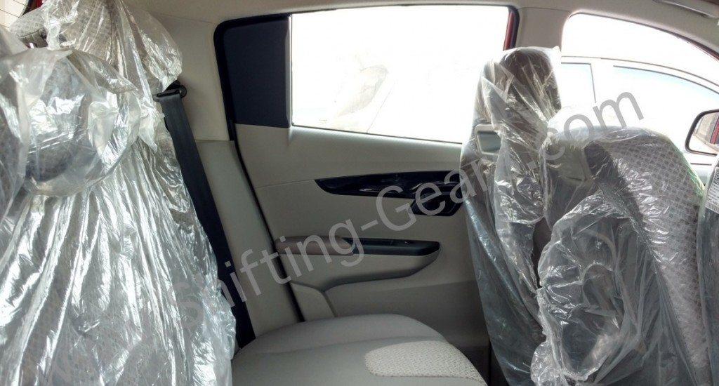 Mahindra KUV100 rear seat