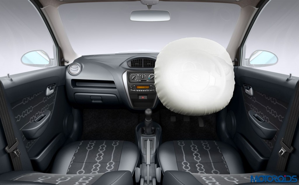 Maruti Suzuki Alto 800 With Optional Airbag (2)