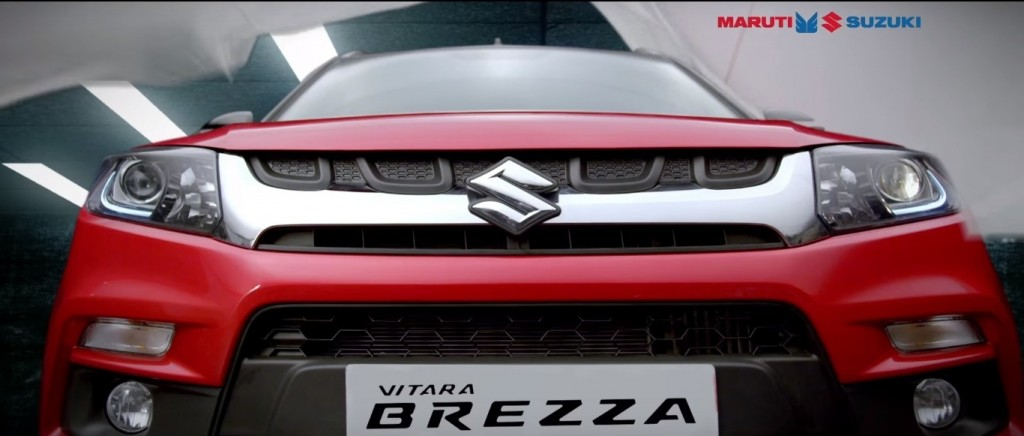 Maruti Suzuki Vitara Brezza front View