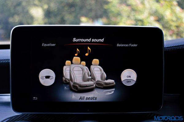 Mercedes-AMG C 63 S Burmester sound system(205)