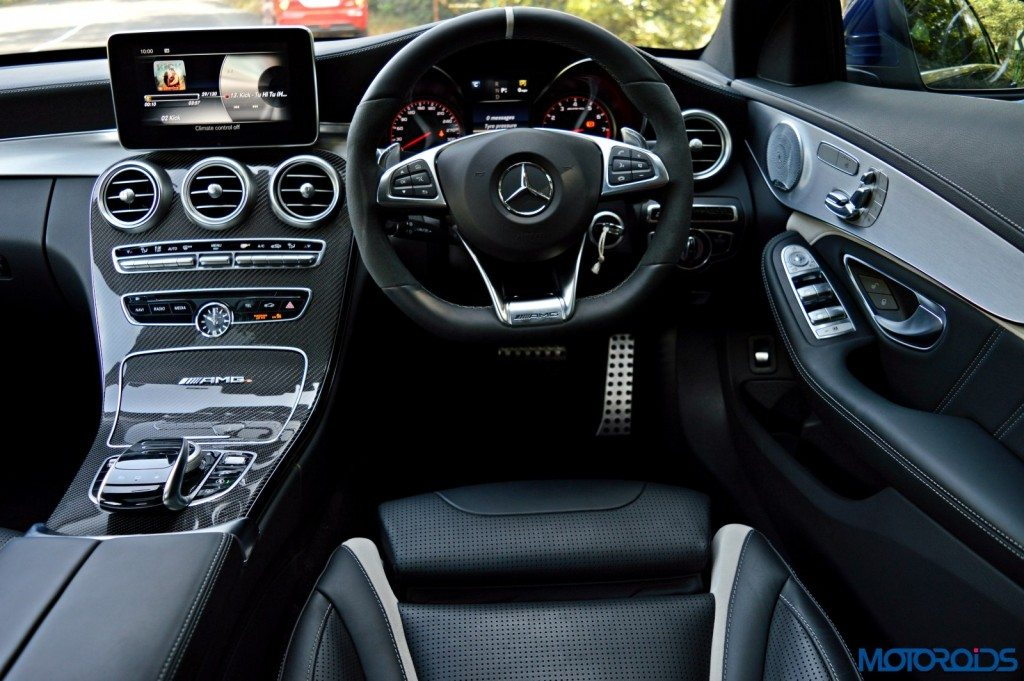 Mercedes-AMG C 63 S driver's perspective (151)