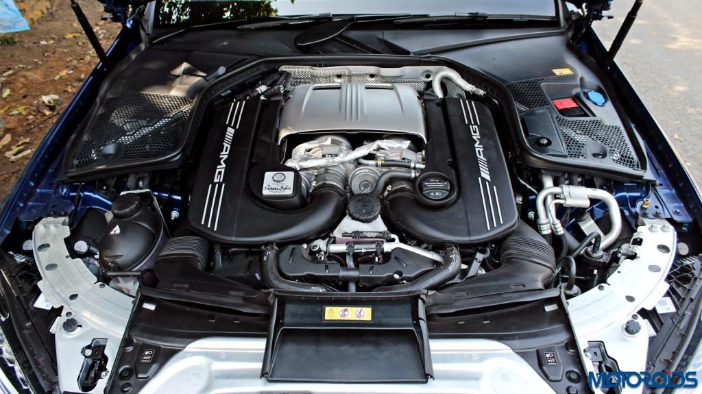 Mercedes-AMG C 63 S engine bay(237)