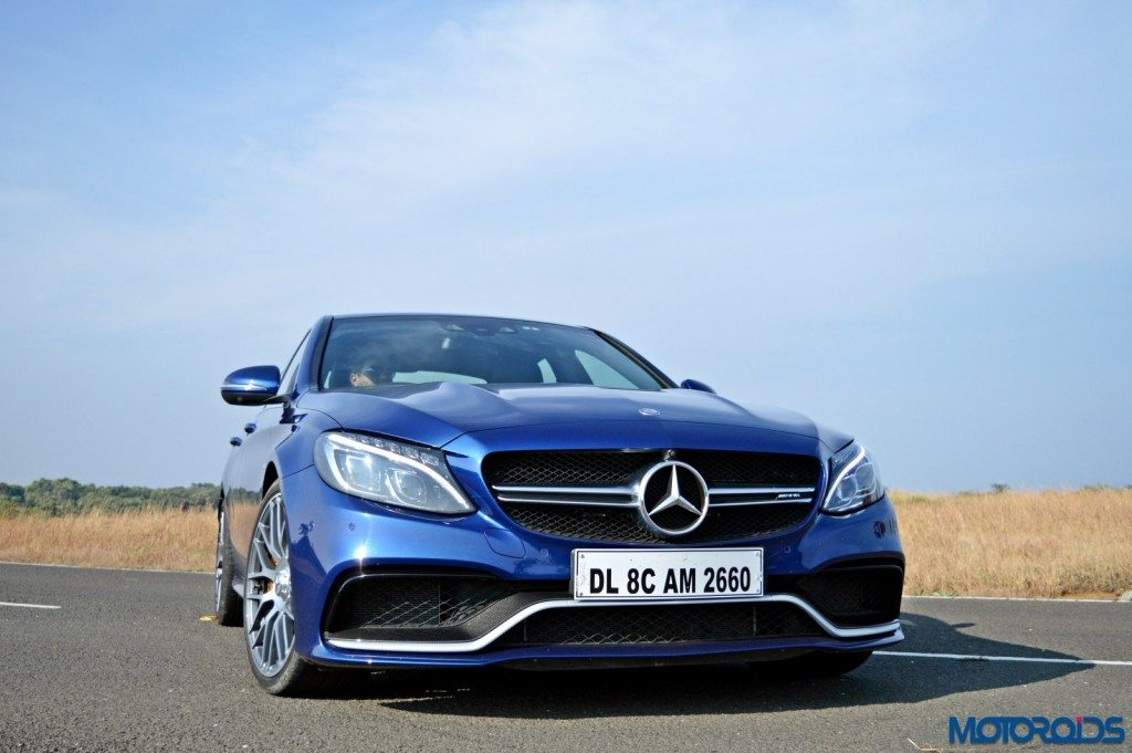 Mercedes-AMG C 63 S front head-on(6)