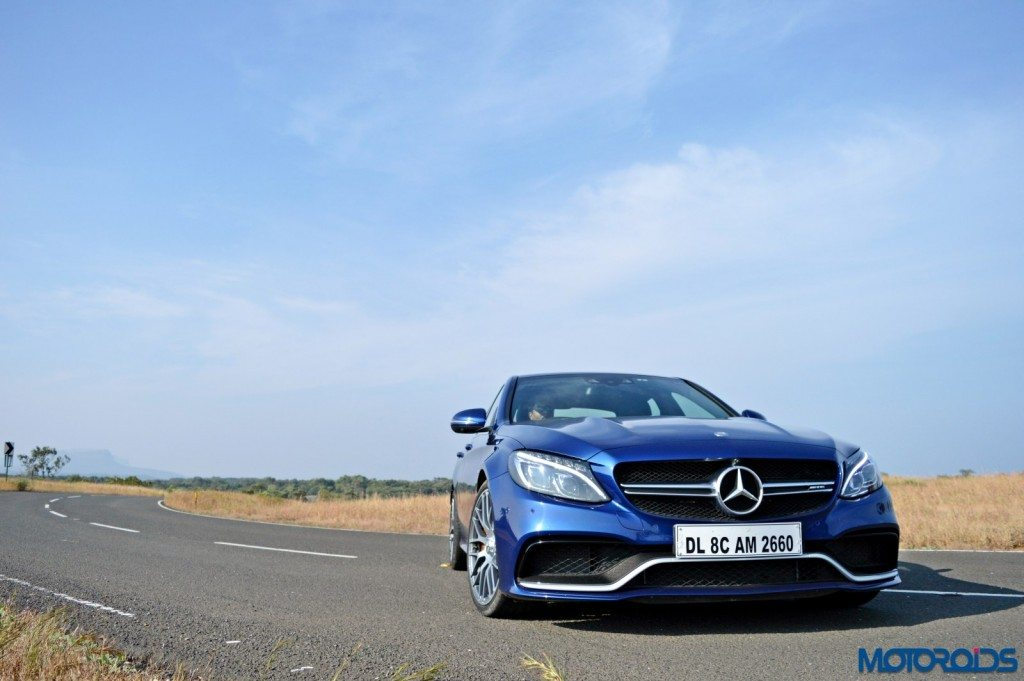 Mercedes-AMG C 63 S front head-on(7)