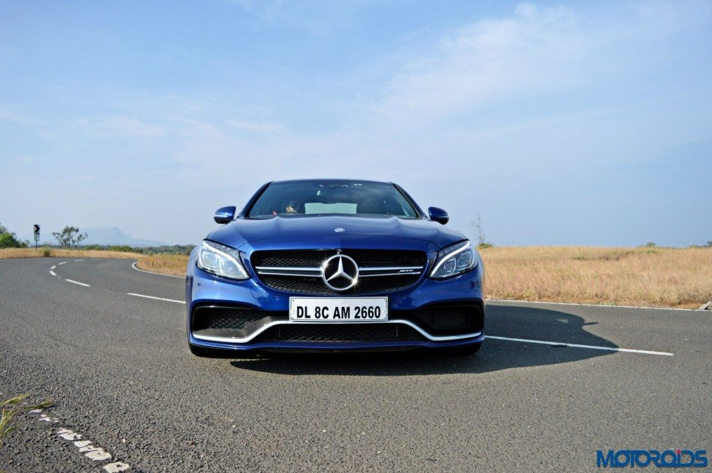 Mercedes-AMG C 63 S front head-on(9)