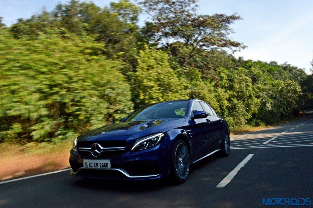 Mercedes-AMG C 63 S motion shots(97)