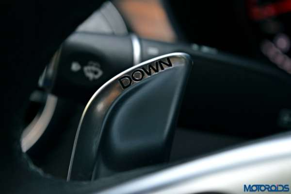 Mercedes-AMG C 63 S shift levers(129)
