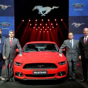 Ford Mustang was the world's best-selling sports coupe in 2015