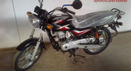 New Bajaj CT100 B Spotted at Dealership - 1