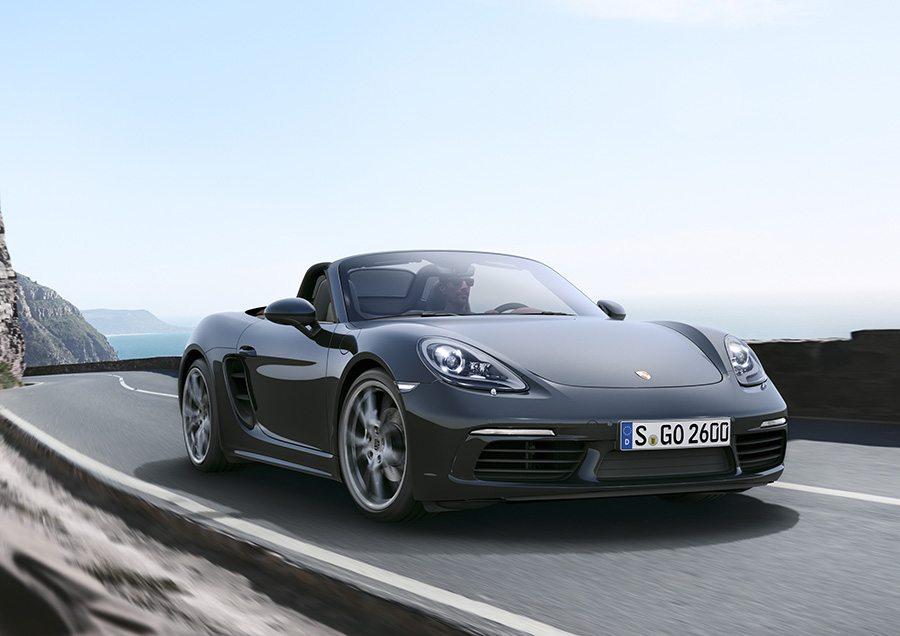 New Porsche 718 Boxster (1)