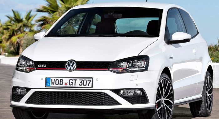 upcoming volkswagen polo gti spotted once again this time. Black Bedroom Furniture Sets. Home Design Ideas