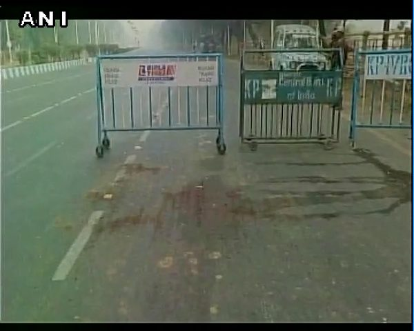 Q7 accident kolkata blood stains