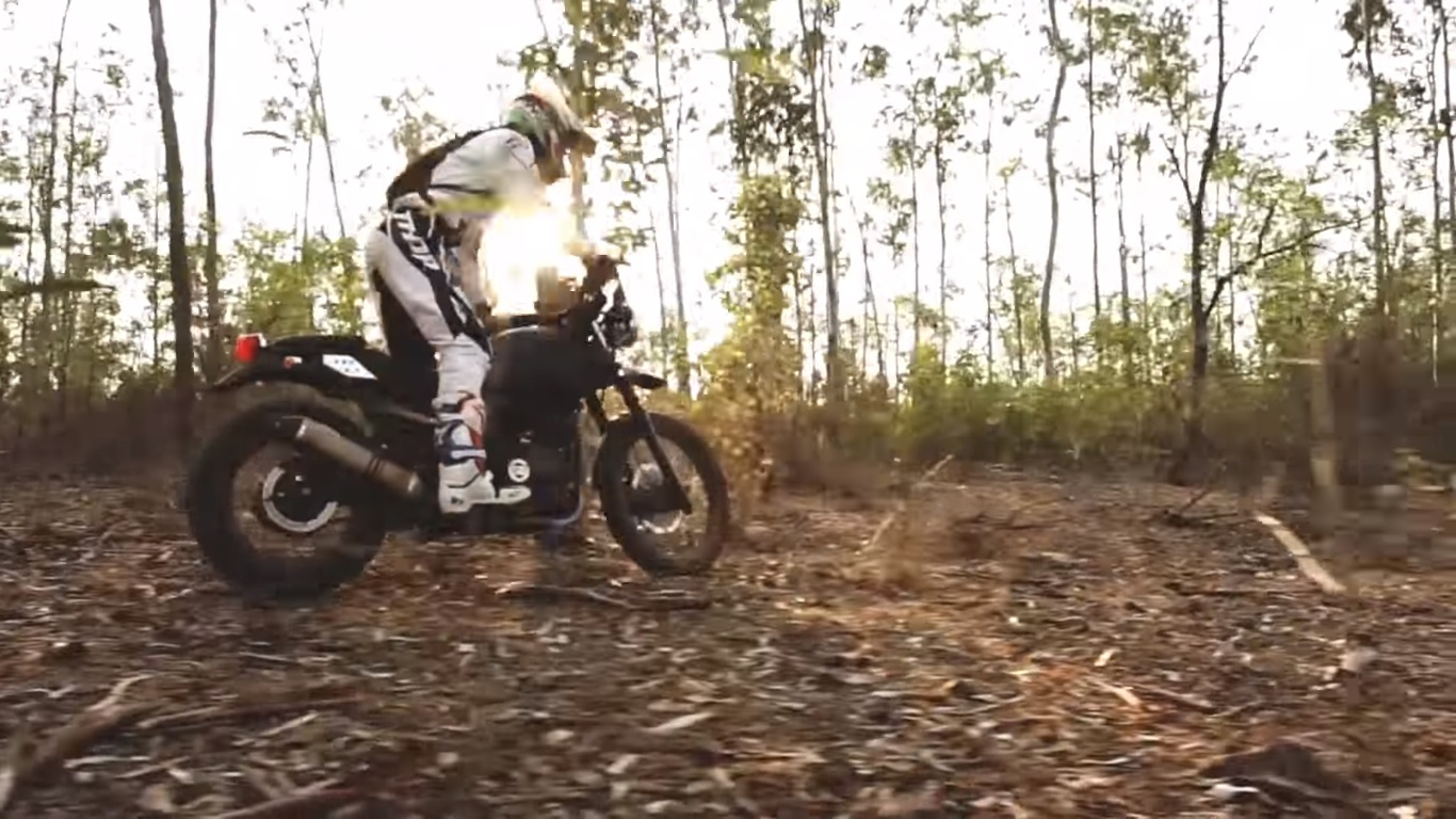 Video Watch The Royal Enfield Himalayan In Action In