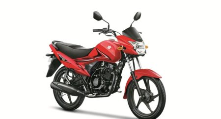 Suzuki Hayate EP Red