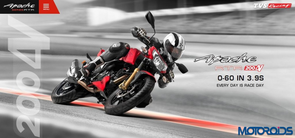 TVS Apache RTR 200 Launch - Official Release and details - 1