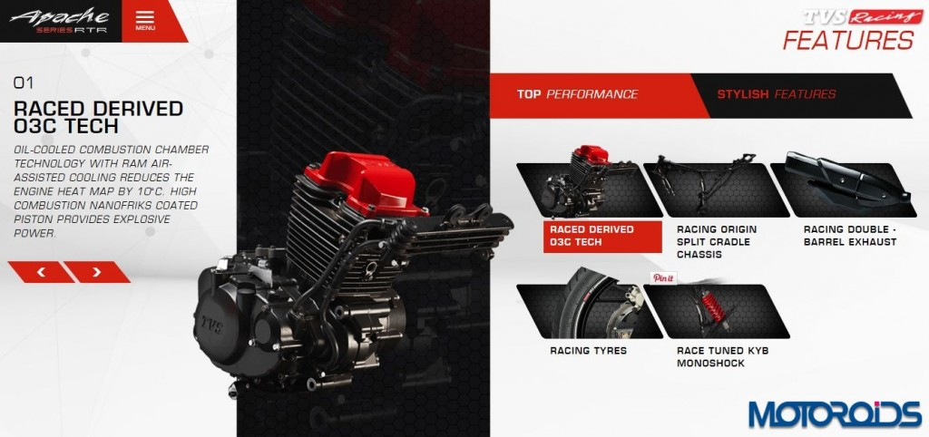 TVS Apache RTR 200 Launch - Official Release and details - 2