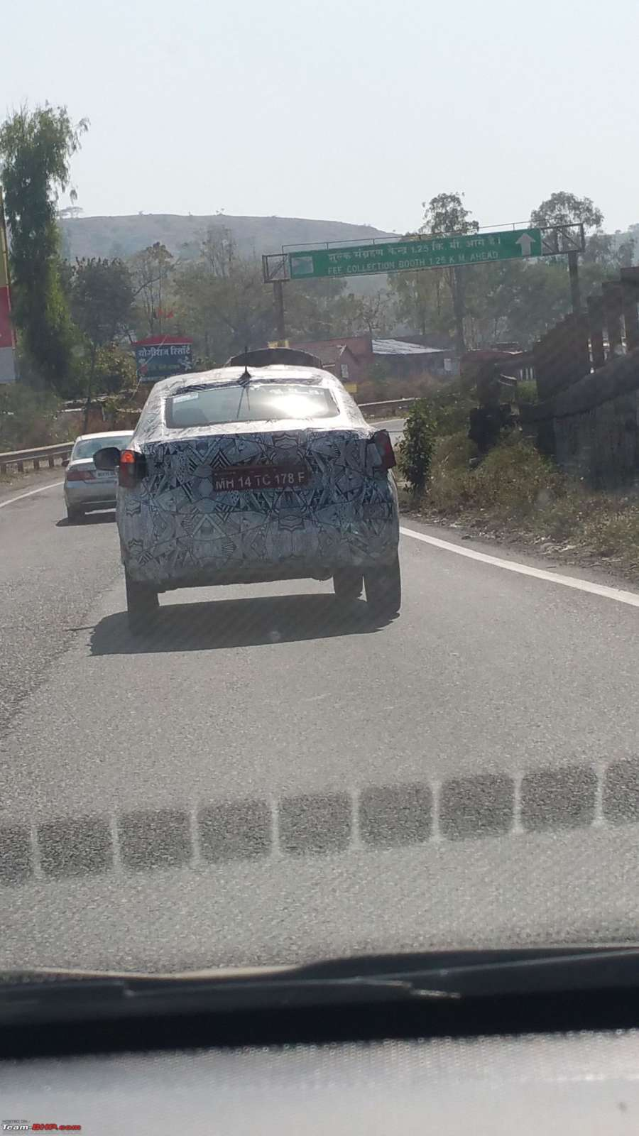 Tata Sway Rear profile