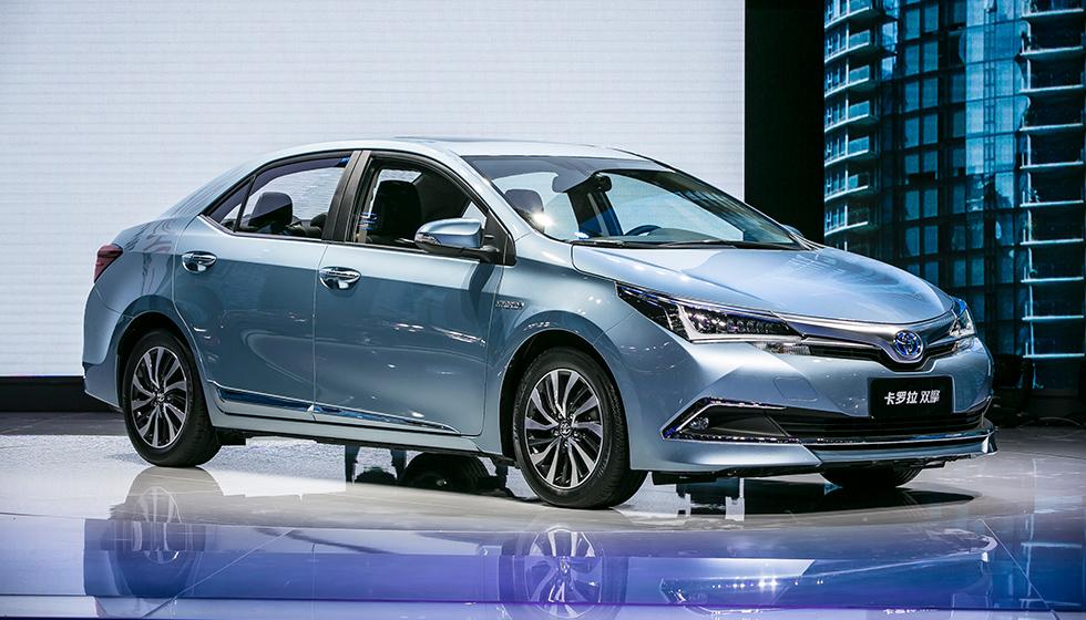 Toyota Corolla hybrid China