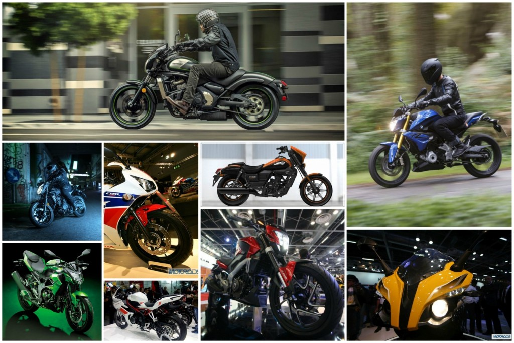 Upcoming Bikes Collage