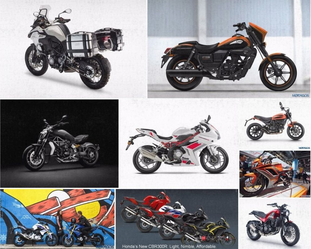 Upcoming Motorcycles - 2016 Auto Expo