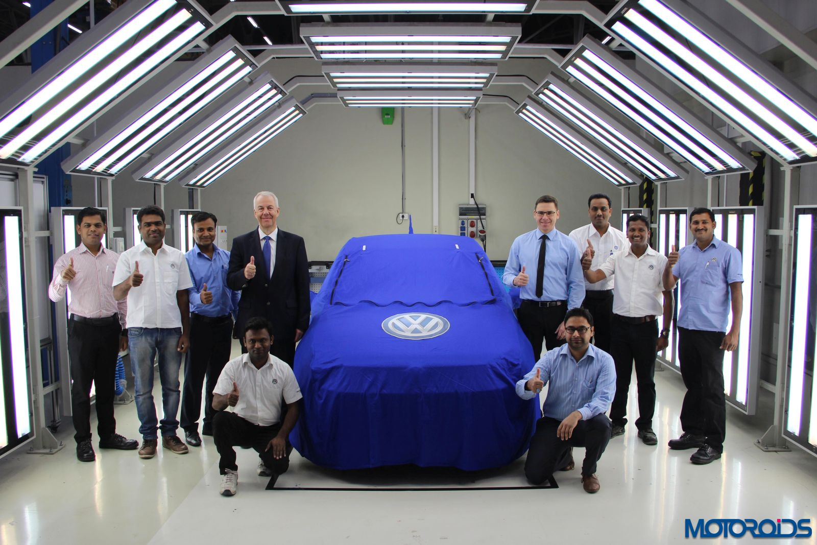 Volkswagen Ameo ready to leave for its World Premiere