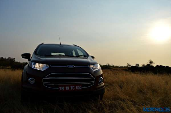new 2016 Ford Ecosport front