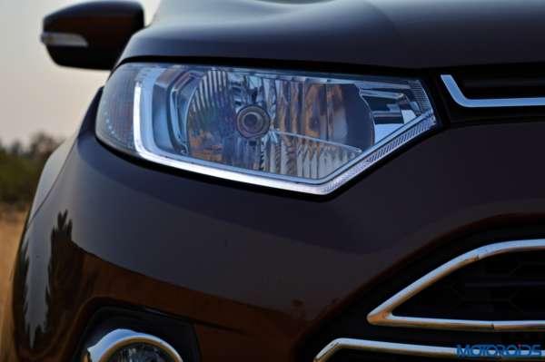 new 2016 Ford Ecosport headlamp