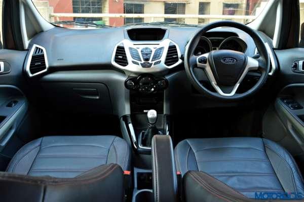 2016 Ford Ecosport interior Dashboard