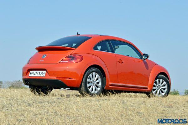 2016 Volkswagen Beetle Rear View