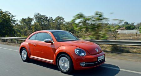 new 2016 Vw volkswagen Beetle India orange